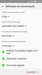 Samsung Galaxy S6 Edge - Email - Adicionar conta de email -  7