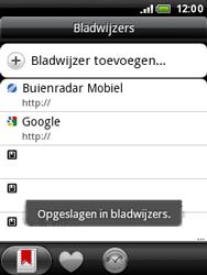HTC A3333 Wildfire - Internet - hoe te internetten - Stap 10