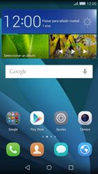 Huawei P8 Lite - Mensajería - Escribir y enviar un mensaje multimedia - Paso 2