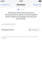 Apple iPhone 6 met iOS 9 (Model A1586) - Privacy - Privacy instellingen van Facebook aanpassen - Stap 8