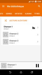 HTC Desire 530 - Photos, vidéos, musique - Ecouter de la musique - Étape 7