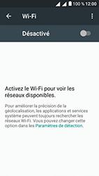 Alcatel U5 - Internet et connexion - Accéder au réseau Wi-Fi - Étape 5