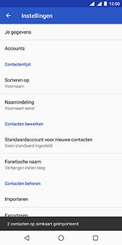 Nokia 7 Plus Dual-SIM (TA-1046) - Contacten en data - Contacten kopiëren van SIM naar toestel - Stap 10
