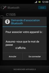 Sony C1505 Xperia E - Bluetooth - connexion Bluetooth - Étape 9