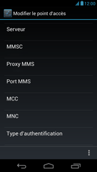 Acer Liquid E1 - Mms - Configuration manuelle - Étape 12