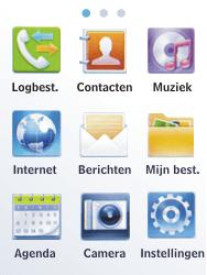 Samsung C3300K - Voicemail - Handmatig instellen - Stap 3