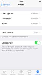Apple iPhone 7 (Model A1778) - Privacy - Maak WhatsApp veilig en beheer je privacy - Stap 9