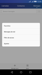 Huawei Huawei Y6 - Mensajería - Configurar el equipo para mensajes de texto - Paso 4