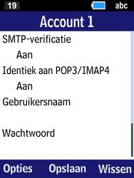 Samsung Xcover 550 (B550H) - E-mail - Account instellen (IMAP met SMTP-verificatie) - Stap 22