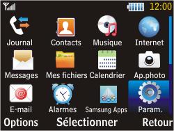 Samsung S3570 Chat 357 - Internet - activer ou désactiver - Étape 3