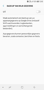 Samsung Galaxy A6 - Data - maak een back-up met je account - Stap 7