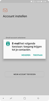 Samsung Galaxy A9 - E-mail - handmatig instellen (outlook) - Stap 5