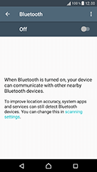 Sony F8331 Xperia XZ - WiFi and Bluetooth - Setup Blue Tooth Pairing - Step 5