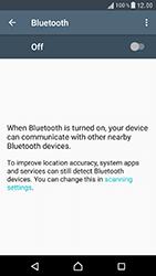 Sony F8331 Xperia XZ - WiFi and Bluetooth - Setup Bluetooth Pairing - Step 5