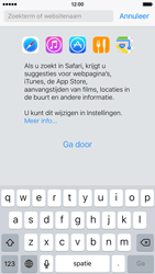 Apple iPhone 6 iOS 9 - Internet - hoe te internetten - Stap 3
