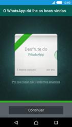 Sony Xperia M4 Aqua - Aplicações - Como configurar o WhatsApp -  10
