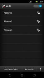Sony LT30p Xperia T - Wifi - configuration manuelle - Étape 5
