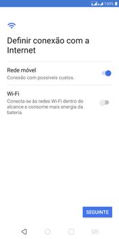LG K12+ - Primeiros passos - Como ativar seu aparelho - Etapa 6