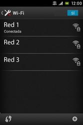 Sony Xperia E - WiFi - Conectarse a una red WiFi - Paso 8