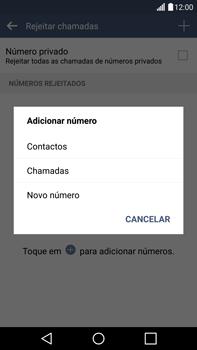 LG G4 - Chamadas - Como bloquear chamadas de um número -  9
