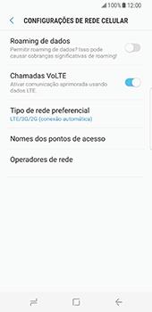 Samsung Galaxy S8 - Internet no telemóvel - Como ativar 4G -  8