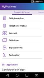 LG K8 - Applications - MyProximus - Étape 23