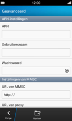 BlackBerry Z10 - MMS - Handmatig instellen - Stap 8