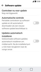 LG X Screen - Netwerk - Software updates installeren - Stap 9