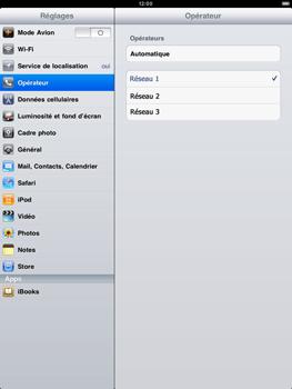 Apple iPad 2 - Réseau - utilisation à l'étranger - Étape 7