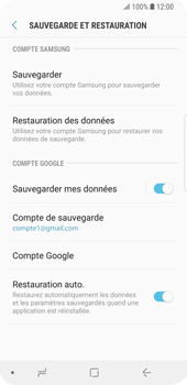 Samsung Galaxy S9 - Device maintenance - Back up - Étape 13