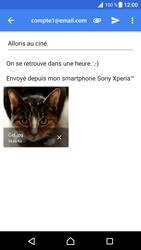 Sony Xperia XZ Premium - E-mails - Envoyer un e-mail - Étape 16