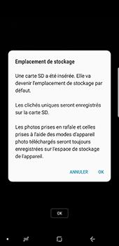 Samsung Galaxy Note 8 - Photos, vidéos, musique - Créer une vidéo - Étape 4