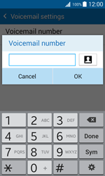 Samsung J100H Galaxy J1 - Voicemail - Manual configuration - Step 9
