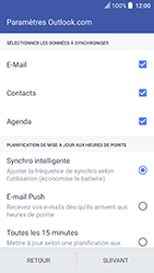 HTC U Play - E-mail - 032c. Email wizard - Outlook - Étape 8