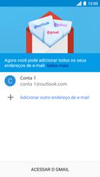Motorola Moto C Plus - Email - Como configurar seu celular para receber e enviar e-mails - Etapa 12