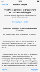 Apple iPhone 6s iOS 10 - Applications - Créer un compte - Étape 10
