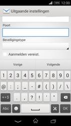 Sony D2203 Xperia E3 - E-mail - Handmatig instellen - Stap 14