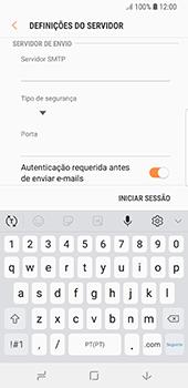 Samsung Galaxy S8 - Android Oreo - Email - Configurar a conta de Email -  14