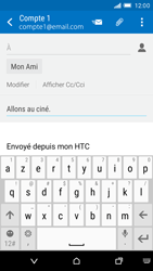 HTC One M9 - E-mail - Envoi d