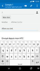 HTC One M9 - E-mail - envoyer un e-mail - Étape 8