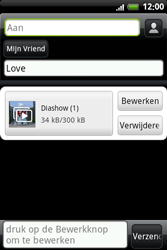 HTC A6363 Legend - MMS - hoe te versturen - Stap 14