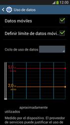 Samsung Galaxy S4 Mini - Internet - Ver uso de datos - Paso 10