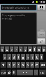 Samsung I8160 Galaxy Ace II - Mensajería - Escribir y enviar un mensaje multimedia - Paso 4