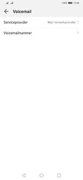 Huawei Mate 20 Pro - Voicemail - handmatig instellen - Stap 10