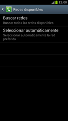 Samsung I9300 Galaxy S III - Red - Seleccionar una red - Paso 7