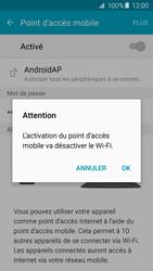 Samsung Galaxy A3 - A5 (2016) - Internet et connexion - Partager votre connexion en Wi-Fi - Étape 11
