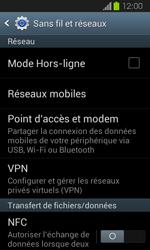 Samsung Galaxy Express - Aller plus loin - Désactiver les données à l'étranger - Étape 5