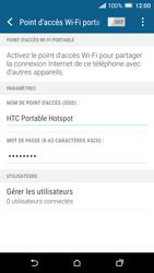 HTC One A9 - Internet et connexion - Partager votre connexion en Wi-Fi - Étape 15