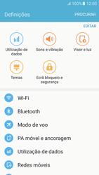 Samsung Galaxy S6 Android M - Wi-Fi - Como ligar a uma rede Wi-Fi -  4