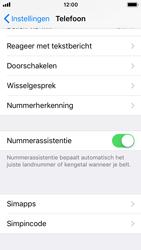 Apple iphone-5s-met-ios-11-model-a1457 - Beveiliging en ouderlijk toezicht - Hoe wijzig ik mijn SIM PIN-code - Stap 4
